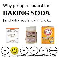 Why preppers stockpile baking soda