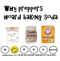 Why do prepper's hoard baking soda?