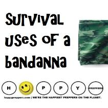 Survival uses of a bandanna