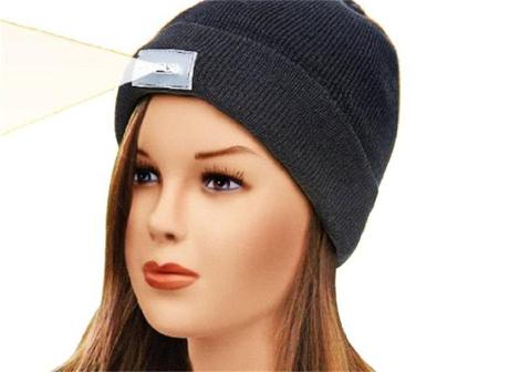 Beanie cap with a flash light is just $4.40 and with free shipping