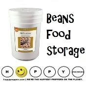 Beans in the Prepper's Pantry