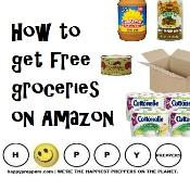 how to get free groceries on Amzon