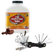 Survival tabs witih bike tools