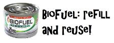 Biofuel: Fuel you can refill and re-use