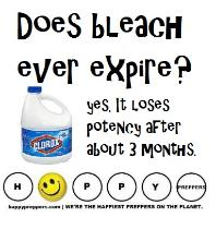Does bleach ever expire?