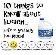 10 things to know about bleach before you buy too much