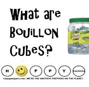 What are Bouillon Cubes