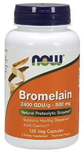 Bromelain supplement