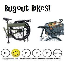 Bugout bike - Montague fold-up bike