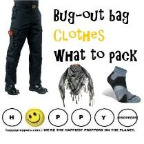 Bugout clothes - what to pack