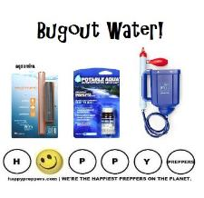 Bugout water - how to select a water filtration system for your bugout bag