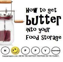 How to get butter into your food storage