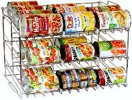 Canned food rack