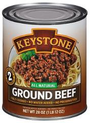Canned Hamburger Ground Beef