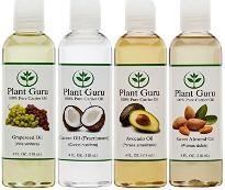 Plant Guru four pack of carrier oils