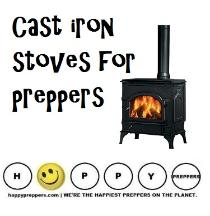 Cast Iron Stoves for Preppers