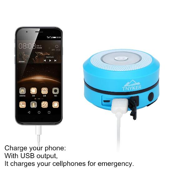 Tynker solar lantern also recharges your phone