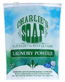 Charlie's Soap laundry Powder