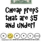 Cheap preps that are $5 and under