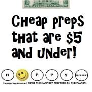 Cheap preps under five bucks