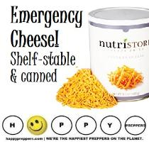 Emergency Cheese Shelf -stable & canned cheese