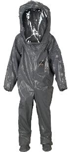 Deluxe chemical protection suit
