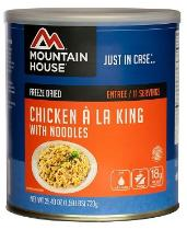 Mountain House #10 can - Chicken A La King