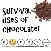 Survival uses of Chocolate