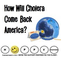 How will cholera come back to America?