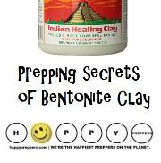 How to use bentonite clay in prepping