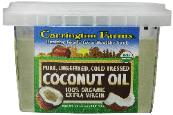 coconut oil 100% organic cold pressed extra virgin