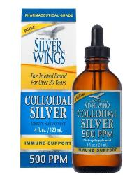 Colloidal silver 500 PPM