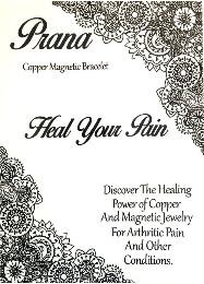 Prana copper healing powers