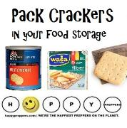 Crackers in your food storage