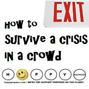 How to survive a crisis in a crowd