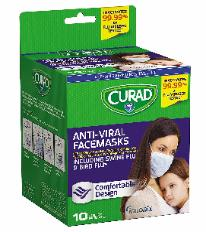 curad Anti-viral face mask