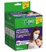 Curad anti-viral facemasks