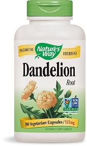 dandelion root dietary supplement