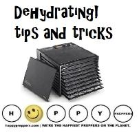 Dehydrating tips and tricks for preppers