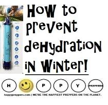 How to prevent dehydration even in winter