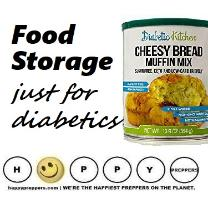 Food storage just for diabetics
