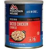 Mountain House freeze dried chicken dices