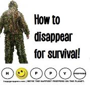 How to disappear for survival