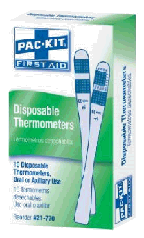 disposable thermometer cheap pandemic prepping