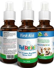 Pet Relief dog first aid spray