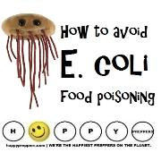 How to avoid E. coli Food poisoning