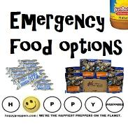 Emergency food options
