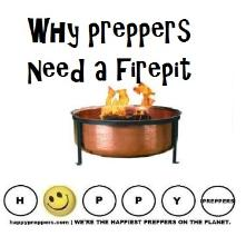 Why prepers need a firepit