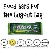 Food bars for the bugout bag