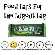 Food bar for the bugout bag.